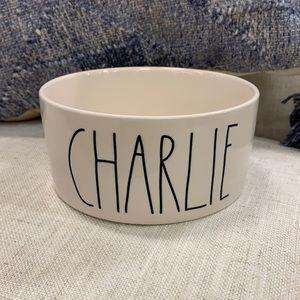 Rae Dunn Charlie dog brand  new